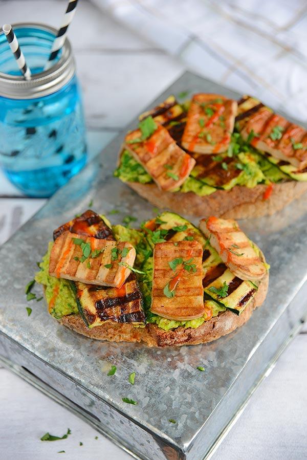 Tartine Avocat Tofu