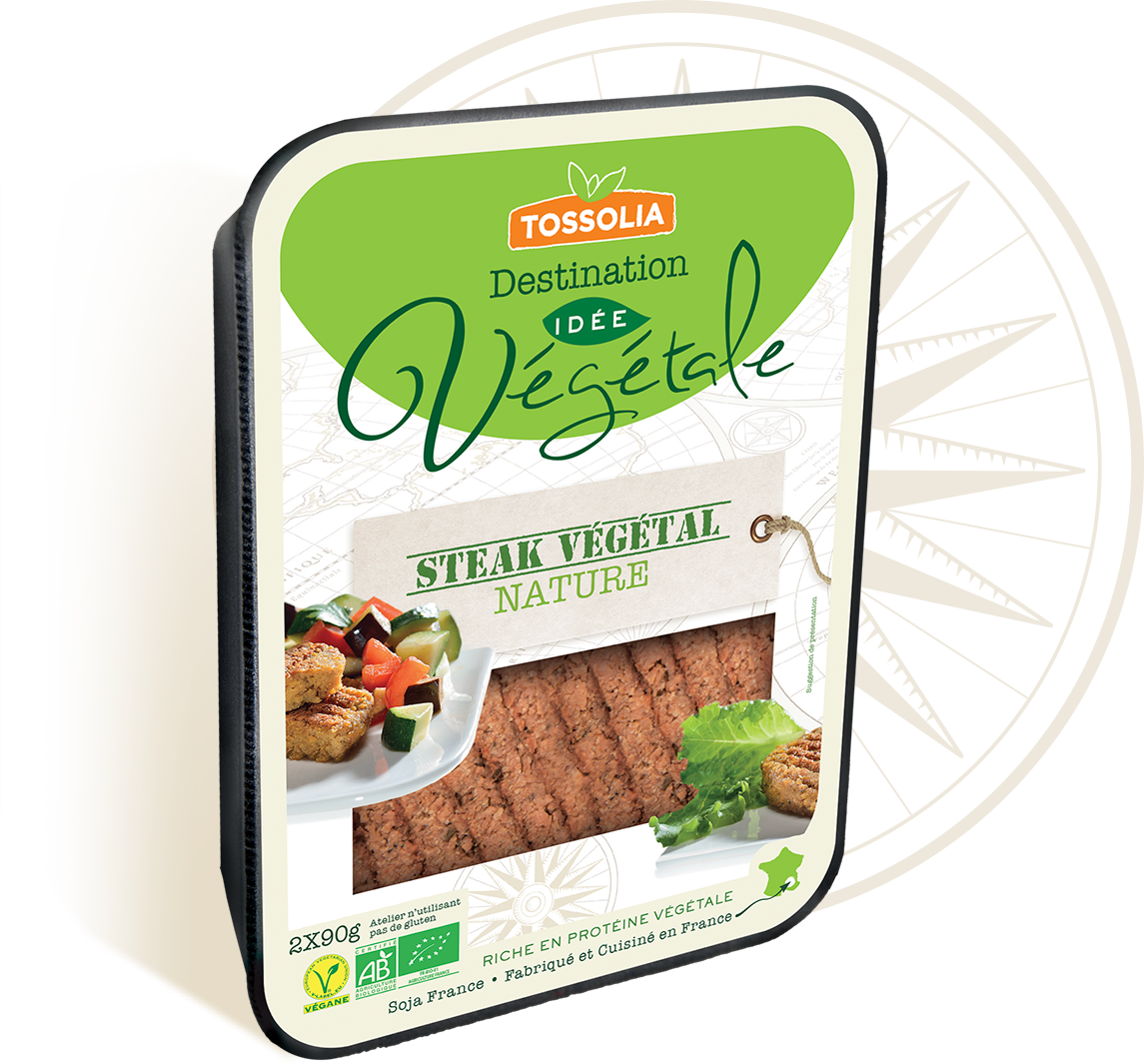 Steak végétal nature