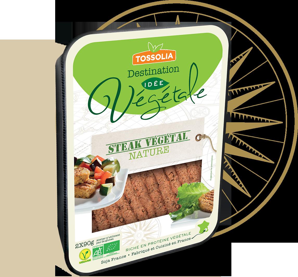 Steak végétal nature