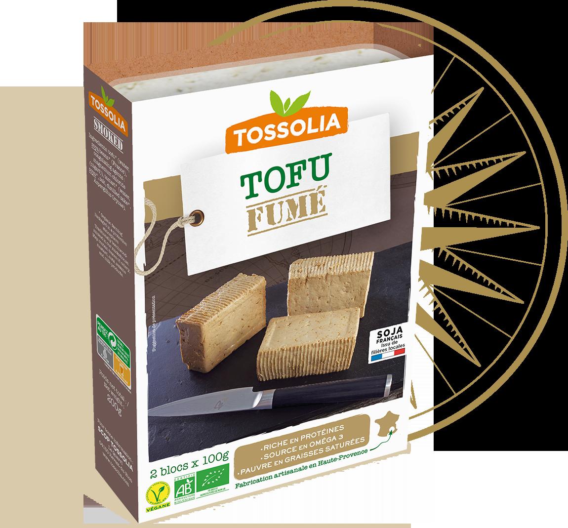Tofu fumé
