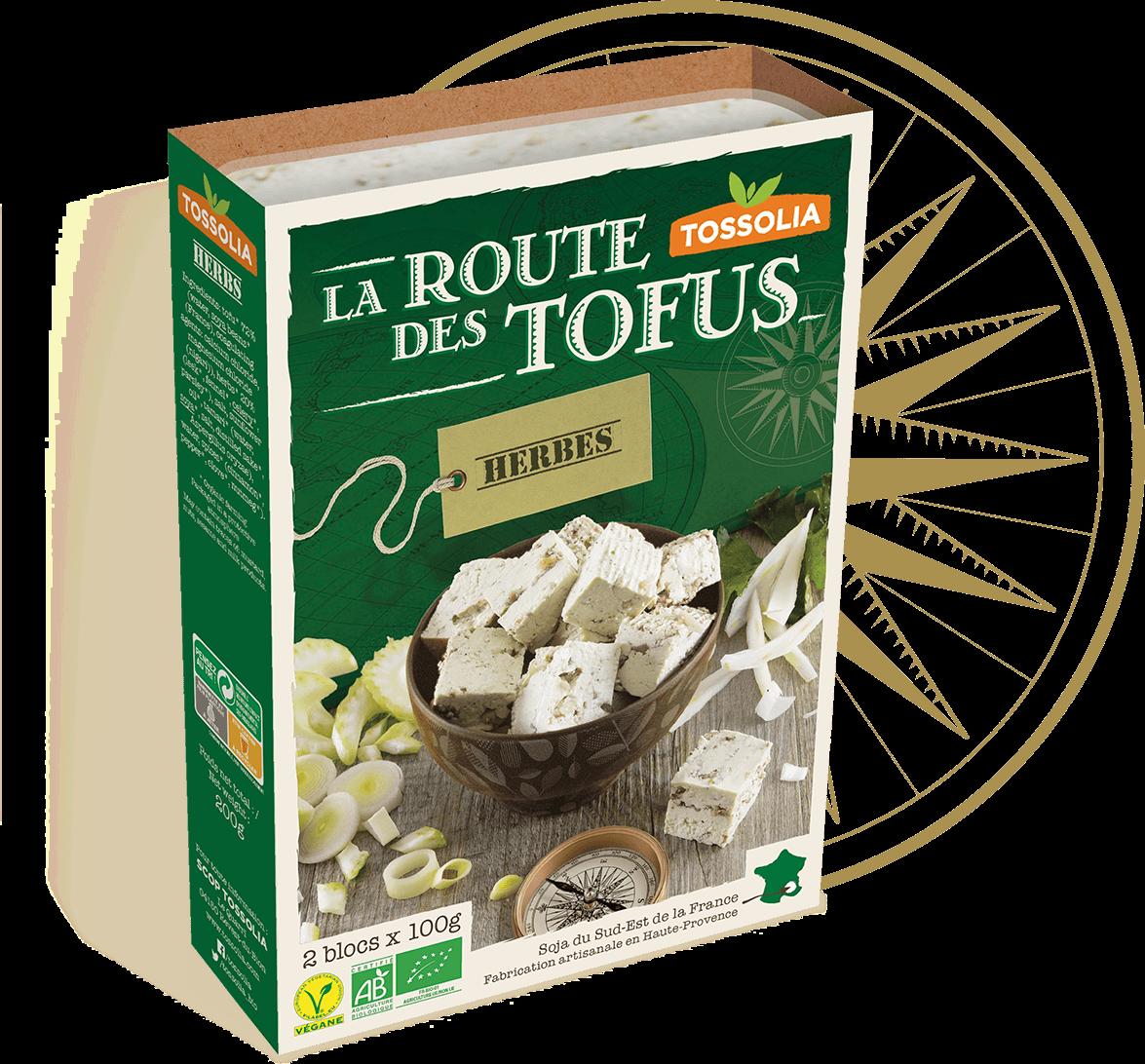 Tofu herbes