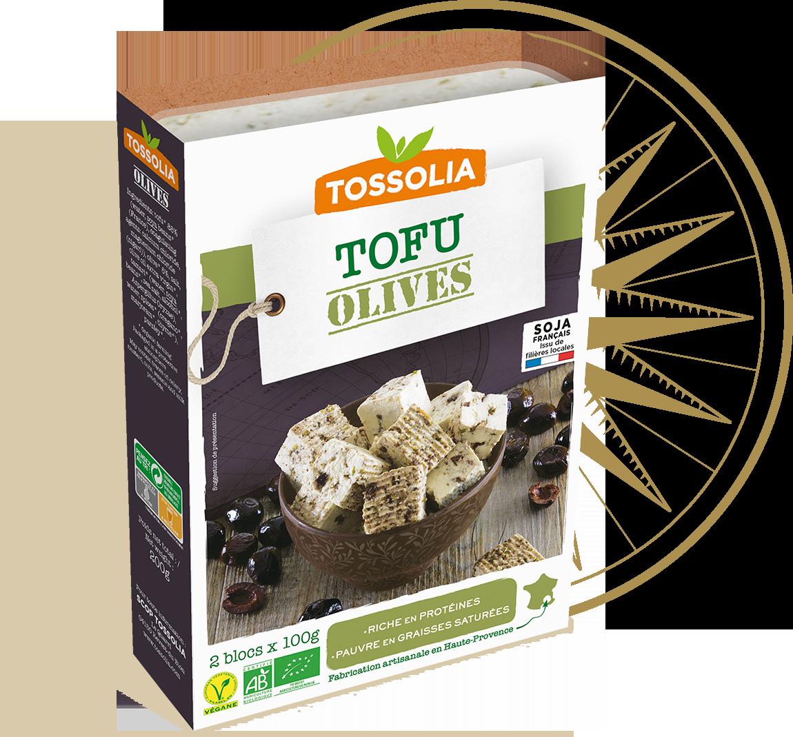 Tofu olives