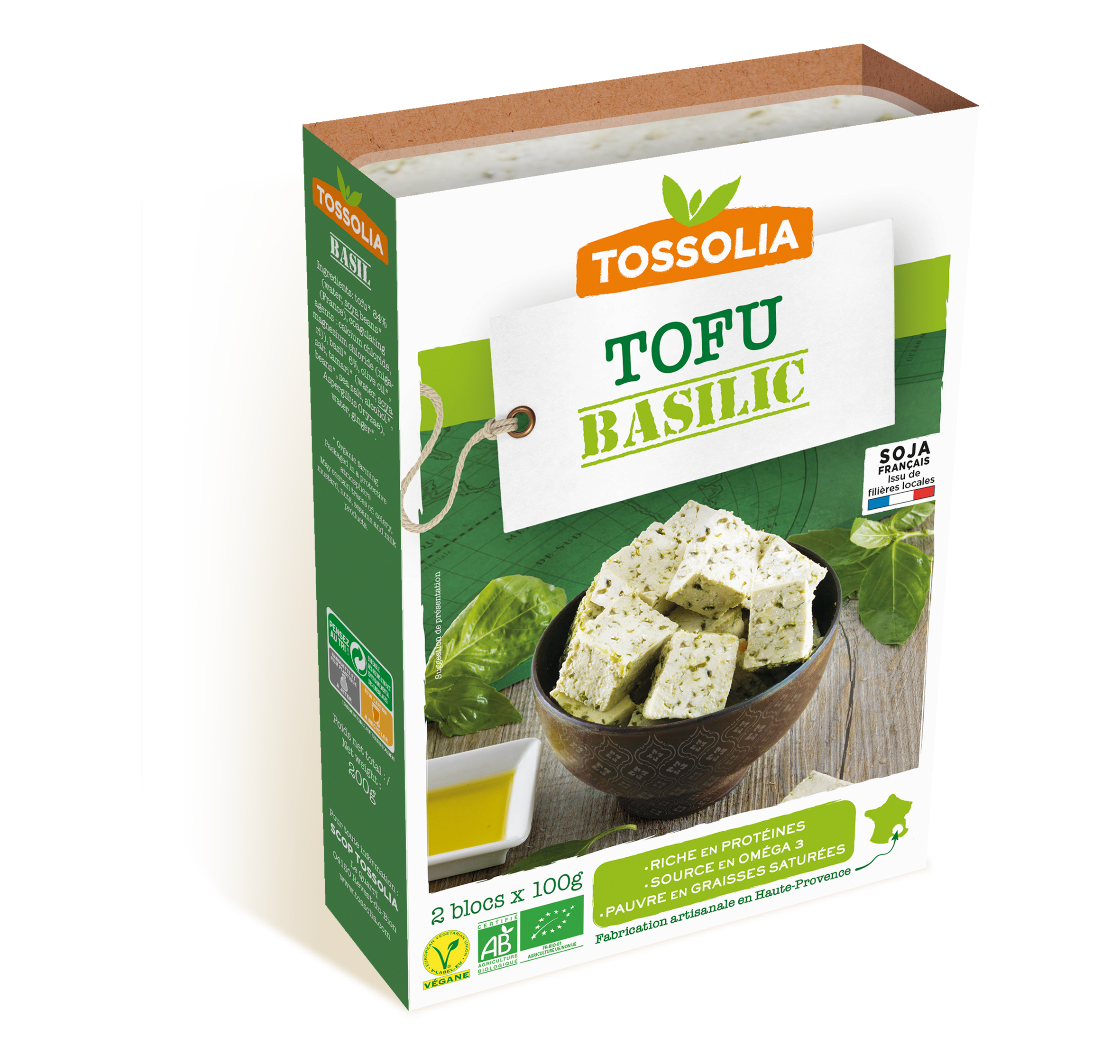 Tofu Basilic