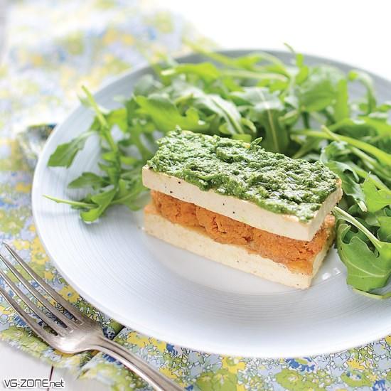 Tofu à la patate douce