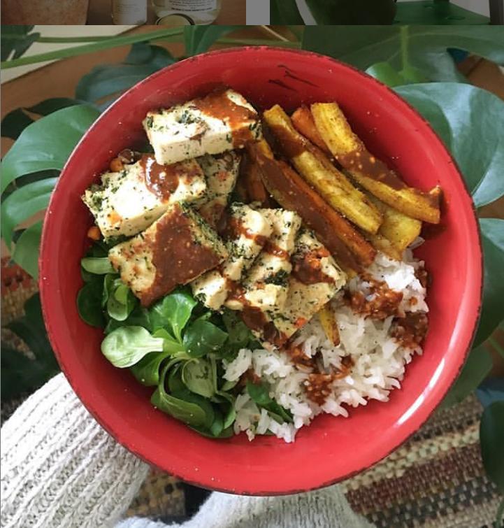 Idée de lunch végétal
