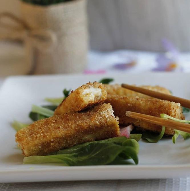 Bâtonnets panés de tofu