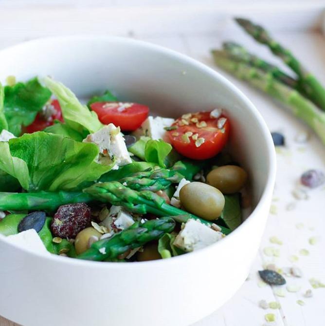 Belle salade d'été