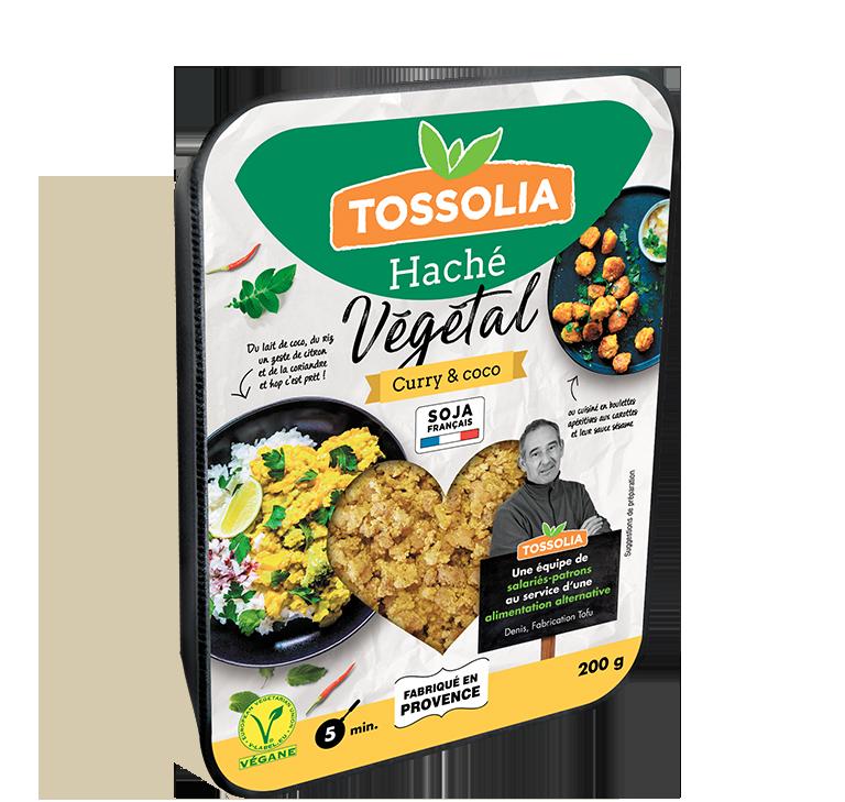 Haché végétal curry & coco