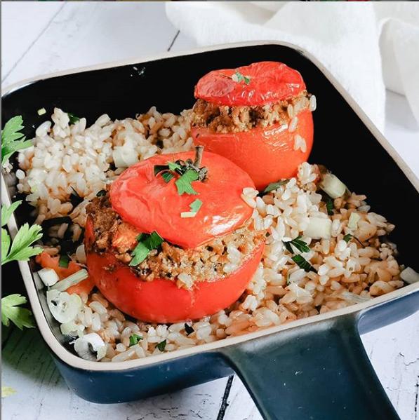 Tomates farcies veggie