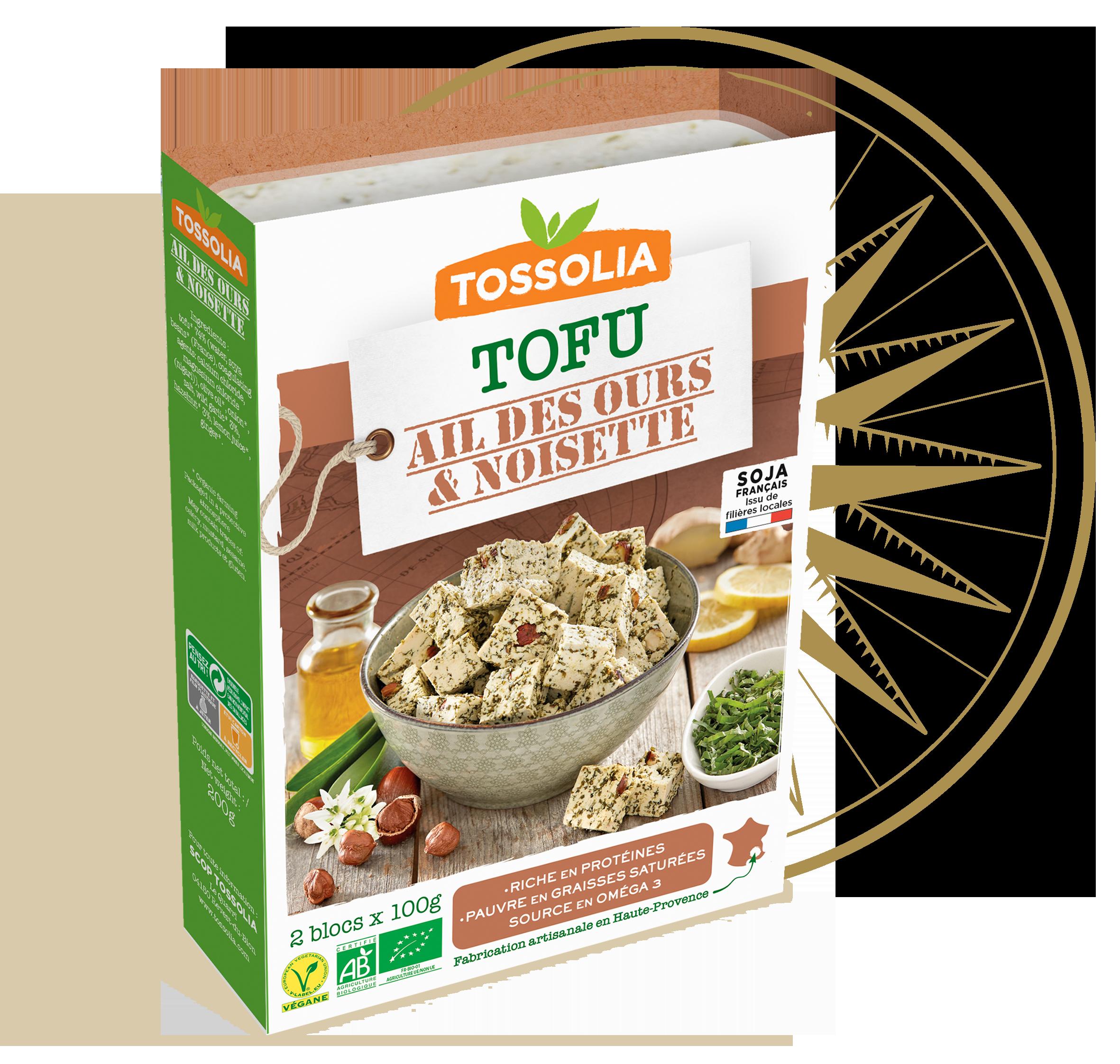 Tofu Ail des Ours & Noisette