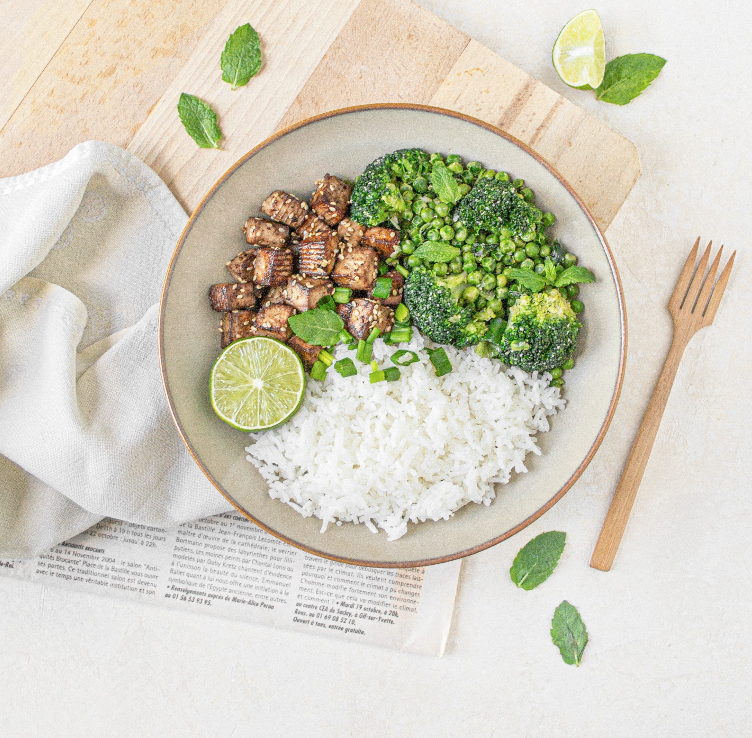 Crispy sesam tofu