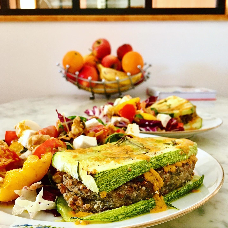 Sandwich de courgettes