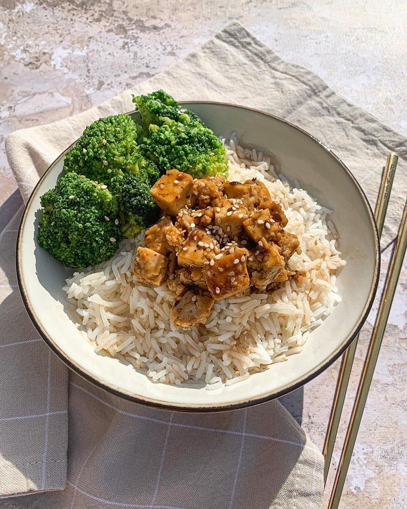 Tofu soja sésame